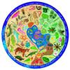 Biodiversity - 500pc Round Jigsaw Puzzle by eeBoo