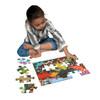 Dinosaur Meadow - 20pc Jigsaw Puzzle by eeBoo