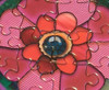 Rainbow Skull - 1000pc Jigsaw Puzzle by JaCaRou