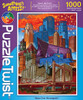 Moon over Minneapolis - 1000pc Jigsaw Puzzle by PuzzleTwist