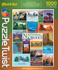 National Parks and Treasures - 1000pc Jigsaw Puzzle by PuzzleTwist