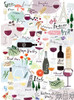 Wine, Vino, Vin - 1000pc Jigsaw Puzzle by PuzzleTwist