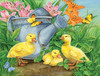Ducklings and Butterflies - 300pc Jigsaw Puzzle By Sunsout