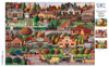 Charles Wysocki: Labor Day in Bungalowville - 300pc Large Format Jigsaw Puzzle by Buffalo Games