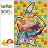 Pokemon: Pikachu & Friends Series 2 Silhouette - 500pc Jigsaw Puzzle by Buffalo Games