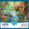 Tiger Lagoon - 300pc Large Format Jigsaw Puzzle By Buffalo Games