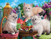 Kitten Tea Party - 500pc Jigsaw Puzzle By Sunsout