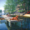 Summer Vacation - 500pc Jigsaw Puzzle By Sunsout