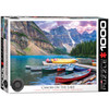 Canoes on the Lake - 1000pc Jigsaw Puzzle by Eurographics