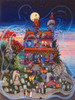 The Ghost and the Haunted House - 1000pc Jigsaw Puzzle By Sunsout