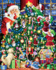 The Star on Top - 1000pc Jigsaw Puzzle by Vermont Christmas Company