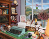 Writer's Desk - 1000pc Jigsaw Puzzle By White Mountain