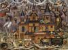 Charles Wysocki: Trick or Treat Hotel - 1000pc Jigsaw Puzzle by Buffalo Games