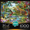 Vivid: Leopard Jungle - 1000pc Jigsaw Puzzle By Buffalo Games