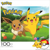Pokemon: Pikachu and Eevee - 100pc Jigsaw Puzzle by Buffalo Games