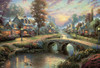 Thomas Kinkade: Sunset on Lamplight Lane - 2000pc Jigsaw Puzzle by Ceaco