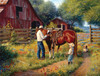 Learning the Ropes - 500+pc Large Format  Jigsaw Puzzle By Sunsout