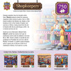 Anna's Ice Cream Parlor - 750pc Jigsaw Puzzle by Masterpieces