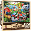 Campside: Little Rascals - 300pc Large Format Jigsaw Puzzle by Masterpieces