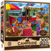 Campside: Trip to the Coast - 300pc Large Format Jigsaw Puzzle by Masterpieces