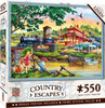 Country Escapes: Apple Express - 500pc Jigsaw Puzzle by Masterpieces