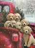 Christmas Delivery - 1000pc Jigsaw Puzzle by Vermont Christmas Company