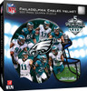 Philadelphia Eagles Helmet - 500pc Shaped Jigsaw Puzzle by Masterpieces