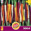 Ugly Produce: Rainbow Carrot Path - 300pc Large Format Jigsaw Puzzle by Ceaco