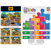 Caterpillar: Parking Lot - 60pc Jigsaw Puzzle by Masterpieces