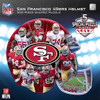 San Francisco 49ers - 500pc Shaped Jigsaw Puzzle by Masterpieces