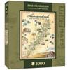 Xplorer: Shenendoah - 1000pc Jigsaw Puzzle by Masterpieces