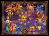 The Zodiac - 500+pc Large Format Jigsaw Puzzle By Sunsout