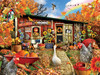 Chicken Crossing - 500+pc Large Format Jigsaw Puzzle By Sunsout