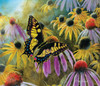 Swallowtail Vistor - 550pc Jigsaw Puzzle By Sunsout