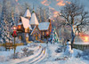 Christmas Cottage - 1000pc Jigsaw Puzzle by EuroGraphics