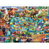 National Parks Map - 100pc Jigsaw Puzzle by Masterpieces