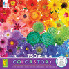 Colorstory: Flower Power - 750pc Jigsaw Puzzle by Ceaco