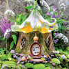 Fairy Houses: Lily Tea House - 300pc Large Format Jigsaw Puzzle by Ceaco