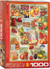 Seed Catalog: Smithsonian, Fruits - 1000pc Jigsaw Puzzle by Eurographics