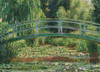 The Japanese Footbridge / Claude Monet - 1000pc Jigsaw Puzzle by Eurographics