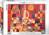 Castle and Sun / Paul Klee - 1000pc Jigsaw Puzzle by Eurographics