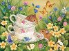Tea for Two - 275pc Easy Handling Jigsaw Puzzle By Cobble Hill