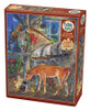 Holiday Horsies - 275pc Easy Handling Jigsaw Puzzle By Cobble Hill