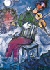 Marc Chagall: The Blue Violinist - 1000pc Jigsaw Puzzle by Eurographics