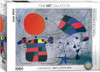 Joan Miro: The Smile of the Flamboyant Wings - 1000pc Jigsaw Puzzle by Eurographics