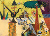 Joan Miro: The Tilled Field - 1000pc Jigsaw Puzzle by Eurographics