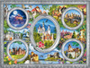 Majestic Castles: Enchanted Frame - 750pc Jigsaw Puzzle by Buffalo Games