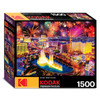 Fireworks over Las Vegas Strip - 1500pc Jigsaw Puzzle by Kodak Premium Puzzles