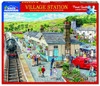 Village Station - 1000pc Jigsaw Puzzle By White Mountain