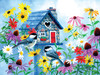 Tweet Hearts Cottage - 500pc Jigsaw Puzzle By Sunsout